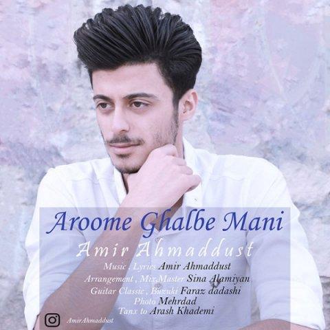 دانلود آهنگ امیر احمد دوست به نام آروم قلبه منی