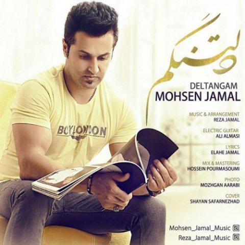 دانلود آهنگ محسن جمال به نام دلتنگم