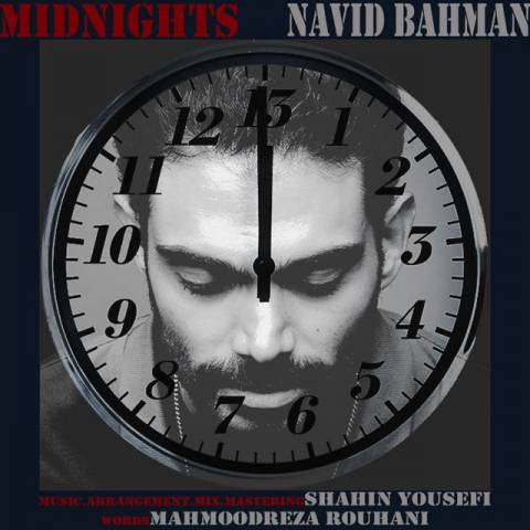 دانلود آهنگ نوید بهمن به نام نیمه شبها