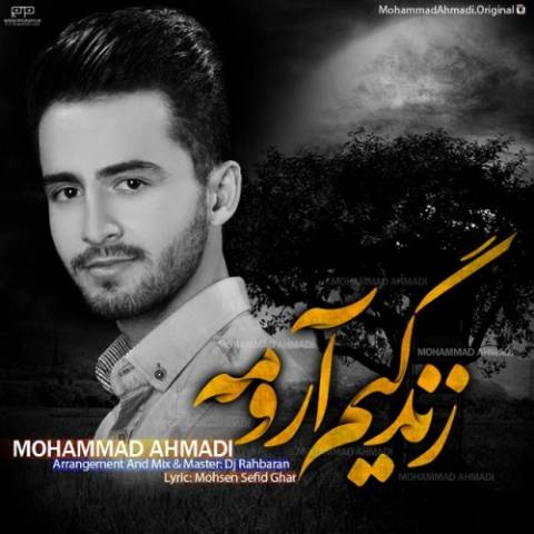 دانلود آهنگ محمد احمدی به نام زندگیم آرومه