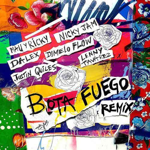 دانلود آهنگ Mau y Ricky And   Nicky Jam And   Dalex به نام BOTA FUEGO Remix