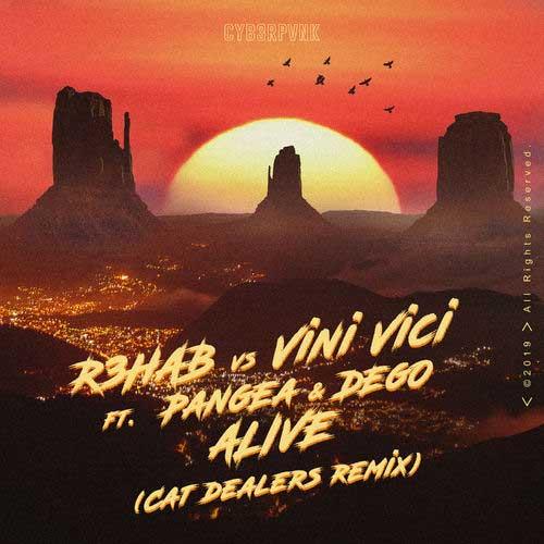 دانلود آهنگ R3HAB به نام Alive Cat Dealers Remix