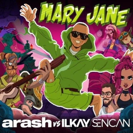 دانلود آهنگ آرش مری جین با کیفیت 320 + متن آهنگ مری جین از آرش