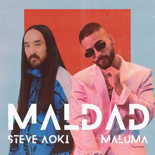 دانلود آهنگ Steve Aoki And   Maluma به نام Maldad