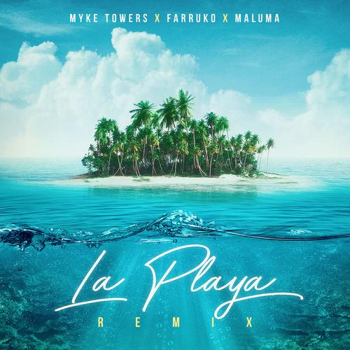 دانلود آهنگ Farruko And   Maluma And   Myke Towers به نام La Playa Remix