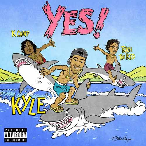 دانلود آهنگ Kyle And K Camp And Rich The Kid به نام YES