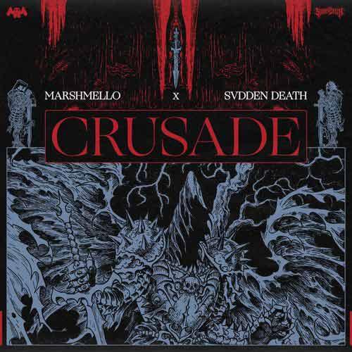 دانلود آهنگ Marshmello And SVDDEN DEATH به نام Crusade