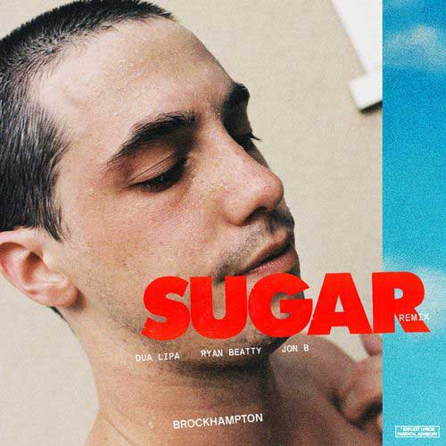 دانلود آهنگ BROCKHAMPTON And Dua Lipa به نام SUGAR Remix