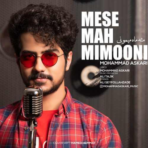دانلود آهنگ محمد عسکری به نام مثه ماه میمونی از موزیک باز