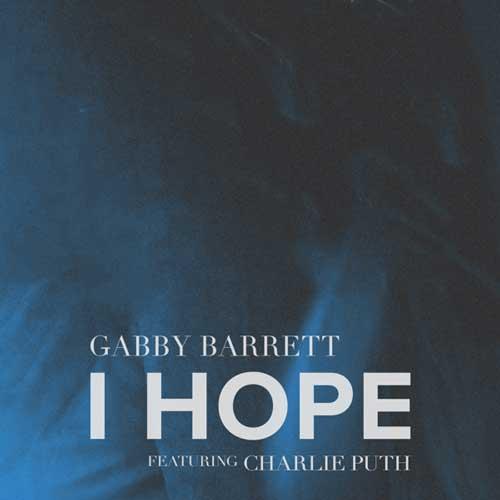 دانلود آهنگ Gabby Barrett And Charlie Puth به نام I Hope