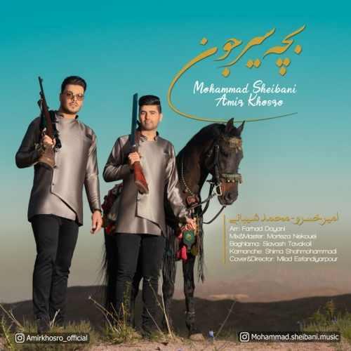 دانلود آهنگ امیرخسرو و محمد شیبانی به نام بچه سیرجون از موزیک باز