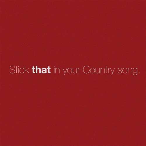 دانلود آهنگ Eric Church به نام Stick That In Your Country Song
