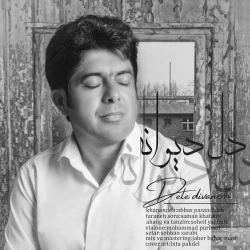 دانلود آهنگ عباس پسندیده به نام دل دیوانه از موزیک باز