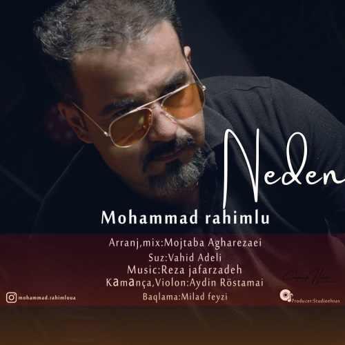 دانلود آهنگ محمد رحیم لو به نام ندن از موزیک باز