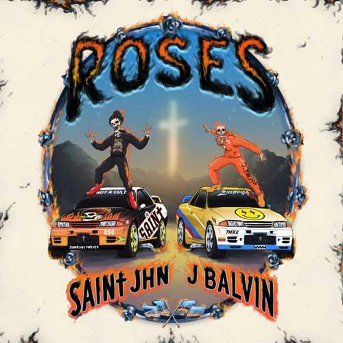 دانلود آهنگ SAINt JHN And J Balvin به نام Roses Remix