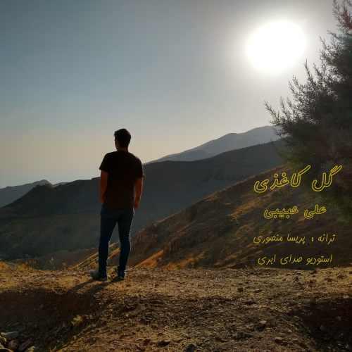 دانلود آهنگ علی حبیبی به نام گل کاغذی از موزیک باز